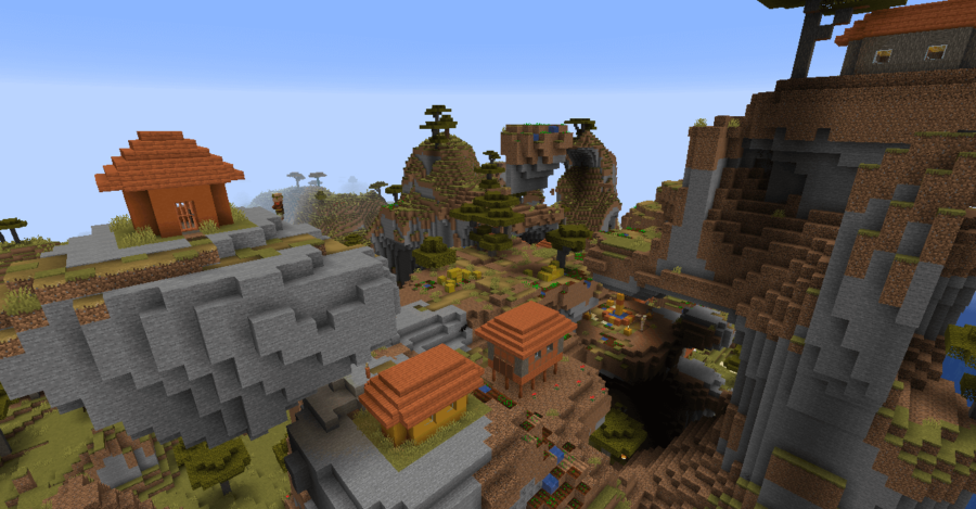 Hello, Neighbor! - Top 10 Best Java Seeds 1.16 and 1.17 for Minecraft (May 2021)