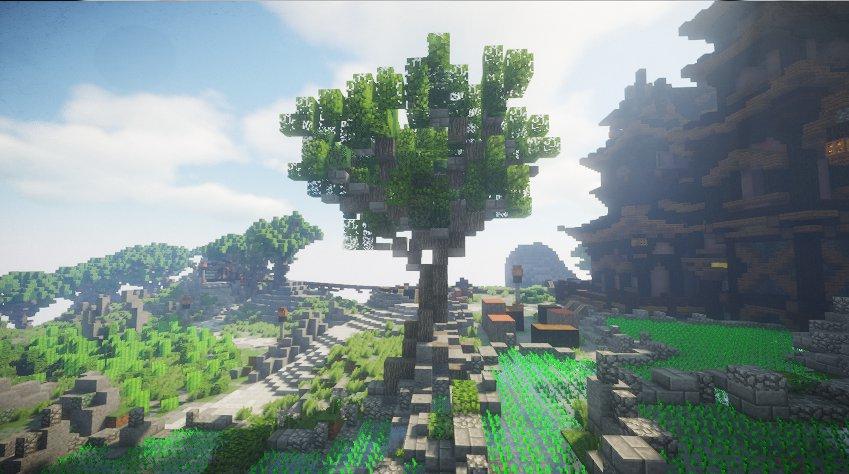 Minecraft OptiFine 1.17 - Screenshot 2