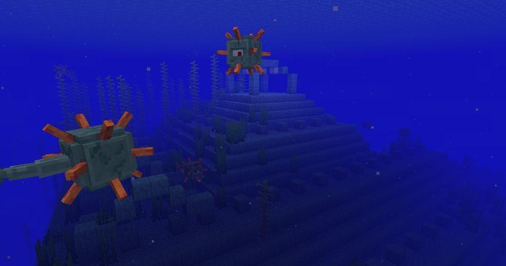 The Water Temple - Top 10 Best Minecraft Seeds 1.17 Caves & Cliffs - All Platform
