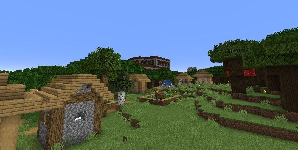 The Prestigious Village - Top 10 Best Minecraft Seeds 1.17 Caves & Cliffs - All Platform